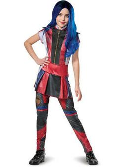 Childs Girl's Classic Disney Descendants 3 Mal Costume