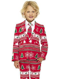OppoSuits Christmas Suits for Boys in Different Prints Ugly