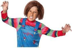 Chucky Boys Child's Play Killer Doll Red Halloween Costume W