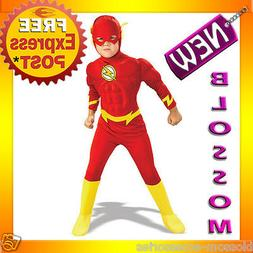 CK37 DC Comics The Flash Muscle Chest Deluxe Toddler/Child S