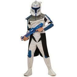 Clone Trooper Captain Rex Costume Kids Star Wars Halloween F