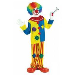 clown costume kids halloween fancy dress