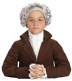 California Costumes Colonial Peruke Wig Child Costume, ACC
