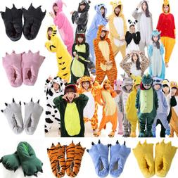 Cosplay Animal Pajamas Adult / Kids Clothing Paw Shoes House