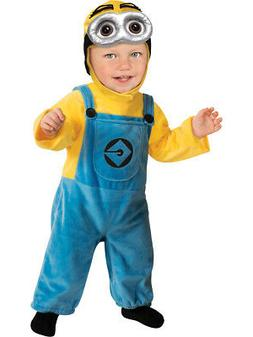 Rubie's Costume Despicable Me 2 Minion Romper, Blue/Yellow,