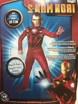 Costume Marvel Avenger IRON MAN 2 Mark VI Jumpsuit Boy Child