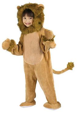 Fun World Costumes Baby's Cuddly Lion Toddler Costume, Tan,