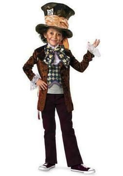 Disguise Costumes Mad Hatter Movie Deluxe Costume , Small