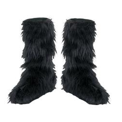 Disguise D/Ceptions 2 Black Furry Boot Covers Costume Access