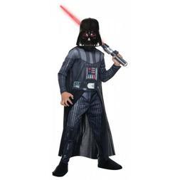 Darth Vader Costume Kids Star Wars Halloween Fancy Dress