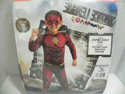 DC Justice League The Flash Child Costume Muscle Chest Rubie