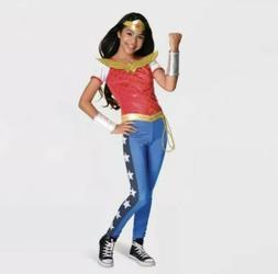 DC Super Hero Girls Wonder Woman Costume Deluxe Halloween Sm