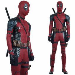 Deadpool Costume Adult Kid Spandex Lycra Zentai Bodysuit Hal