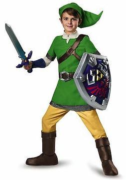 Deluxe Child Link Costume
