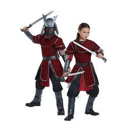 California Costumes Deluxe Japanese Warrior Unisex Child Cos