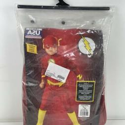 DC Comics Deluxe Muscle Chest The Flash Boy Toddler Small Co