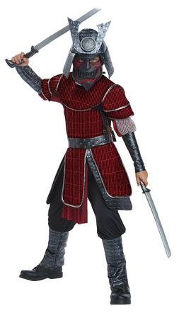 Deluxe Samurai Japanese Warrior Ninja Unisex Child Costume
