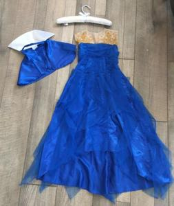 descendants evie coronation blue gown dress child