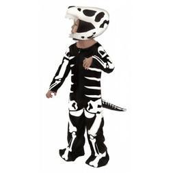 Dinosaur Costume Kids T-Rex Skeleton Fossil Halloween Fancy
