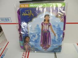 DISNEY ALADDIN JASMINE CHILD COSTUME TODDLER 3T-4T NEW FAST