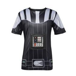 Disney Star Wars Darth Vader Body Armor T-Shirt Child Size L