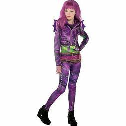 Disney Descendants 2 Mal Costume for Girls, Includes Jacket