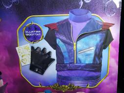 Disney Descendants 3, Kids Dress Up MAL Costume Set Top Glov