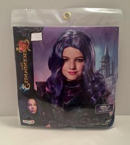 Disney Descendants 3 *MAL WIG* Blue & Purple Hair For Hallow