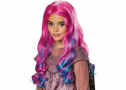 Disney Descendants 3 Movie Halloween *AUDREY WIG* Pink Blue
