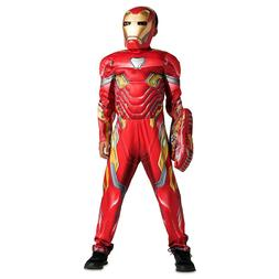 Disney Marvel Avengers Iron Man Costume 3pc Set for Kids w/