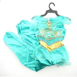 Disguise Disney Princess Girls Kids Child Aladdin Jasmine Ha