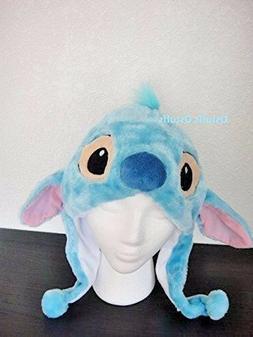 Disney Stitch Lilo plush hats beanie for adults kids Hallowe