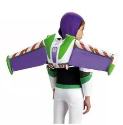 DISNEY TOY STORY BUZZ LIGHTYEAR JET PACK INFLATABLE COSTUME