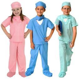 Doctor Costume for Kids Dr Scrubs Halloween Fancy Dress