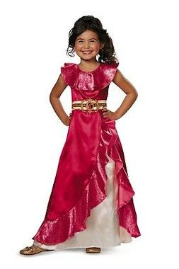 Elena of Avalor Classic Adventure Child Costume, Pink, Disgu