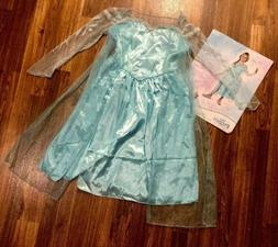 Kids Elsa Snow Queen Gown - Small