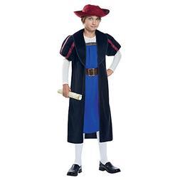 Boys Explorer Christopher Columbus Costume sz Large 10-12
