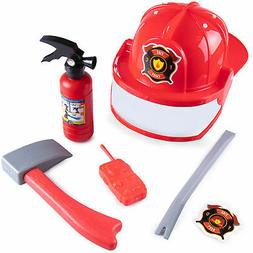 Firefighter Accessory Kit for Kids Costumes, Dress Up & Role