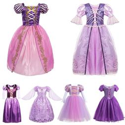 <font><b>Girls</b></font> Rapunzel Tangled Dress <font><b>Ki
