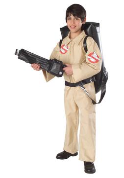 Ghostbusters - Child Ghostbuster Costume with Inflatable Pro