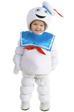 Ghostbusters STAY PUFT Marshmallow Man Costume Puffed KIDS C