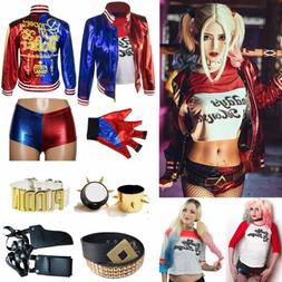Girl Kids Women Harley Quinn Suicide Squad Halloween Costume