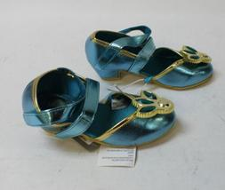 Disney Girl's Jasmine Double Strap Costume Shoes SC4 Teal Si