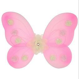 Kate Mack Girl's Pink Butterflies Wings Costume Accessories