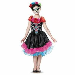 Girls Day of the Dead Costume Dia De Los Muertos Mexican Rem