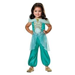 Girls Disney Princess Jasmine Costume Aladdin Halloween Chil