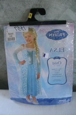 Disney Girls Elsa Costume - Frozen - Small 4-6 Child
