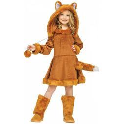 Girls Fox Costume Kids Halloween Fancy Dress