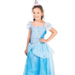 Girls Frozen Elsa Princess Cinderella Dress Kids Disney Cosp