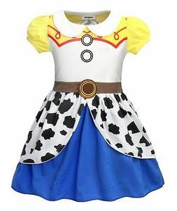AmzBarley Girls Jessie Costumes Fancy Party Halloween Dress